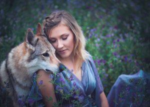 Schmeiser Fotografie - Portrait mit Wolf